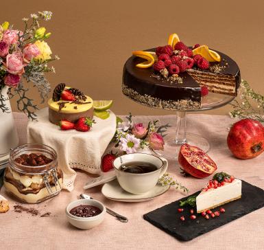 Домашна торта с орехови блатове и белгийски шоколад (без брашно)