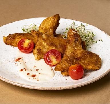 Хрупкави пилешки филенца