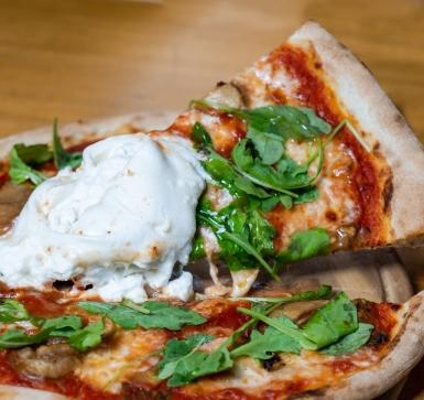 Пица Бурата